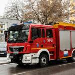 Pożar w piastowskiej fabryce