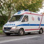Wypadek motocyklisty w Jankach