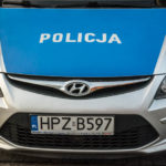 Czołowe zderzenie samochodów pod grodziskiem