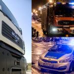 Tragedia koło Pruszkowa. 40-latek zmiażdżony przez naczepę ciężarówki