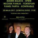 Koncert Włodka Pawlika w Podkowie Leśnej