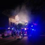 Jedenaście osób poszkodowanych po nocnym pożarze w Pruszkowie