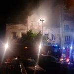 Czy kamienica przy ulicy Chopina została podpalona?