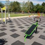 W Pruszkowie jest już dostępna kolejna siłownia plenerowa