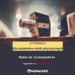 Stypendia dla studentów uczelni artystycznych