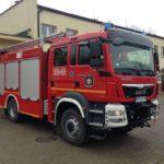 OSP Młochów może się pochwalić nowym samochodem strażackim