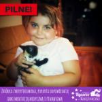 9-letnia Hania z Pruszkowa cierpi na rzadką chorobę