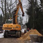 Przebudowa dróg w Otrębusach
