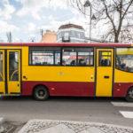 Pożar autobusu w Grodzisku Mazowieckim