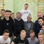 Andrzej Szarmach spotkał się z uczniami z Pruszkowa