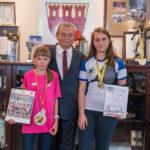 Prezydent Pruszkowa spotkał się z młodymi zawodniczkami