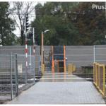 Zamknięcie przejścia dla pieszych w Pruszkowie
