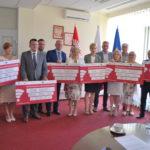 Prawie 19 mln zł środków unijnych przekazał Urząd Marszałkowski mazowieckim gminom