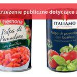 Uwaga na krojone pomidory z Lidla
