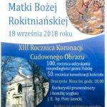 XIV samorządowa pielgrzymka do Rokitna