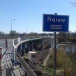Ruch wahadłowy na moście w Nowym Dworze Mazowieckim