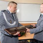 Uroczyste pożegnanie Komendanta Komisariatu w Nadarzynie