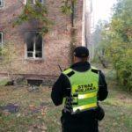 """Podpalacz ujęty """"na gorącym uczynku"""" przez Strażników Miejskich w Milanówku"""