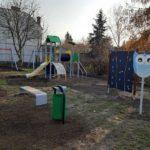 Plac zabaw w Brwinowie po remoncie gotowy